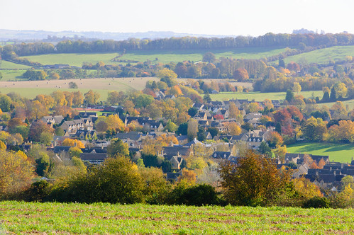 Cotswold prospect: distant viewof Chipping Campden