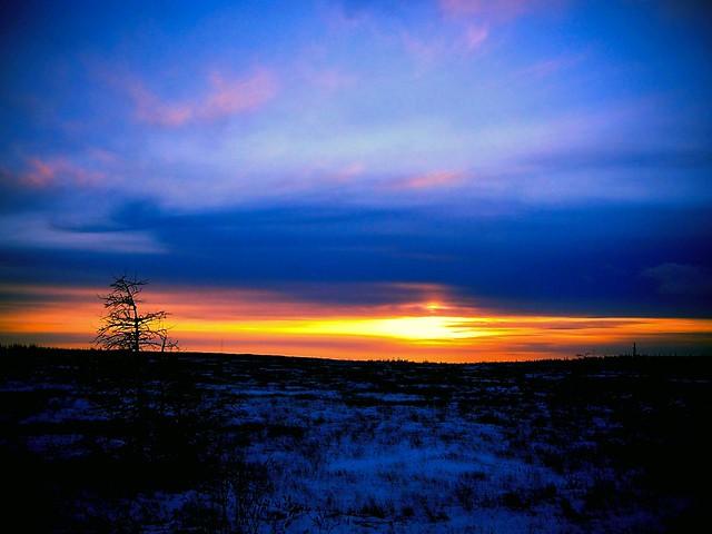 Sunset, Sony DSC-W150