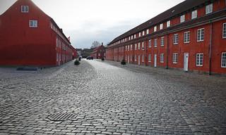 Image of  Kastellet. copenhagen denmark københavn castle fort cobbles