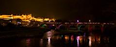sam, 03/12/2016 - 21:39 - La Marche aux flambeaux, dans le cadre du Téléthon, a cheminé, comme il est de tradition, de la Cité médiévale à la place Carnot, ce 3 décembre 2016.