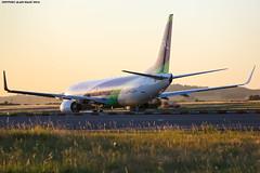 CDG Spotting TASSILI AIRLINES Boeing B737-8ZQ 7T-VTT