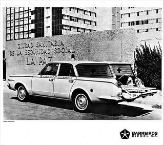 1967 Dodge Ambulance by Barreiros (Spain)
