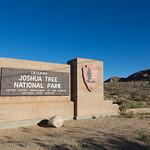 Joshua Tree Nation Park Sign