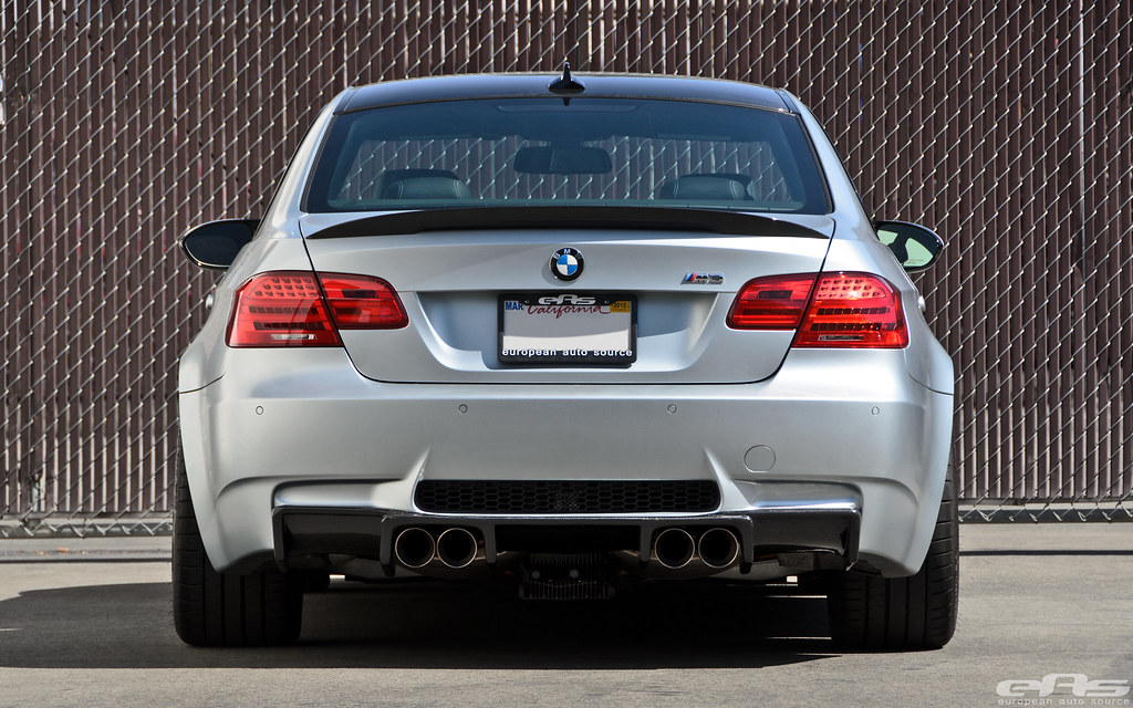 Eas Mode Carbon Lip Amp Diffuser Installed On Frozen Silver M3
