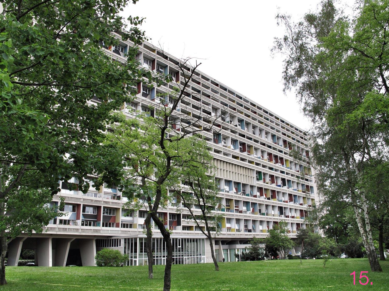 Unidad de Habitación de Le Corbusier