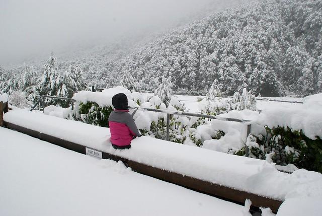 Maruia Springs in Winter