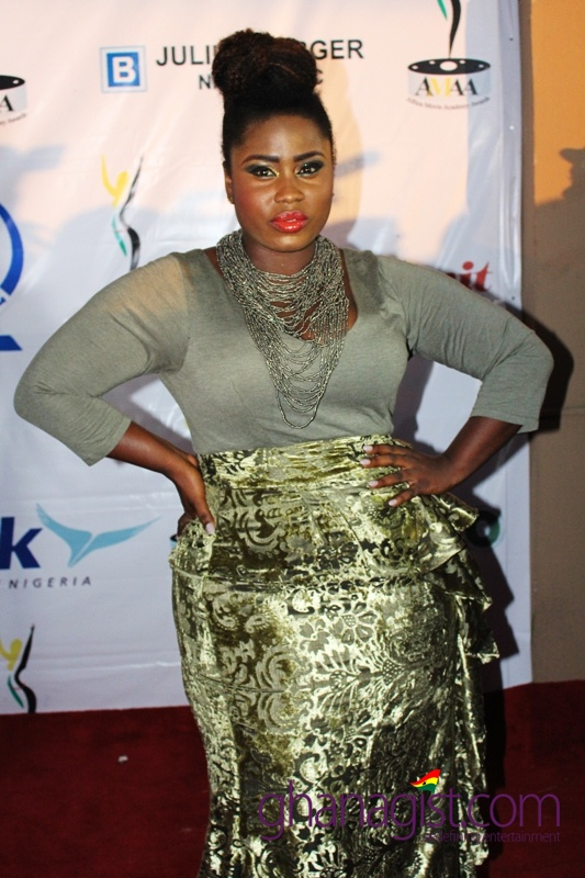Lydia Forson at Africa Movie Academy Awards 2014