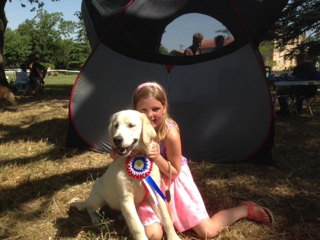 dogshowLumiLucy