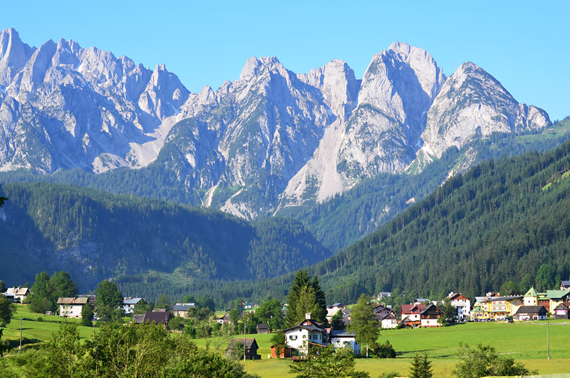 Dachstein Mountains, Gosau, Austria