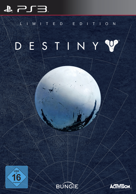 Destiny Limited Edition Packshot PS3