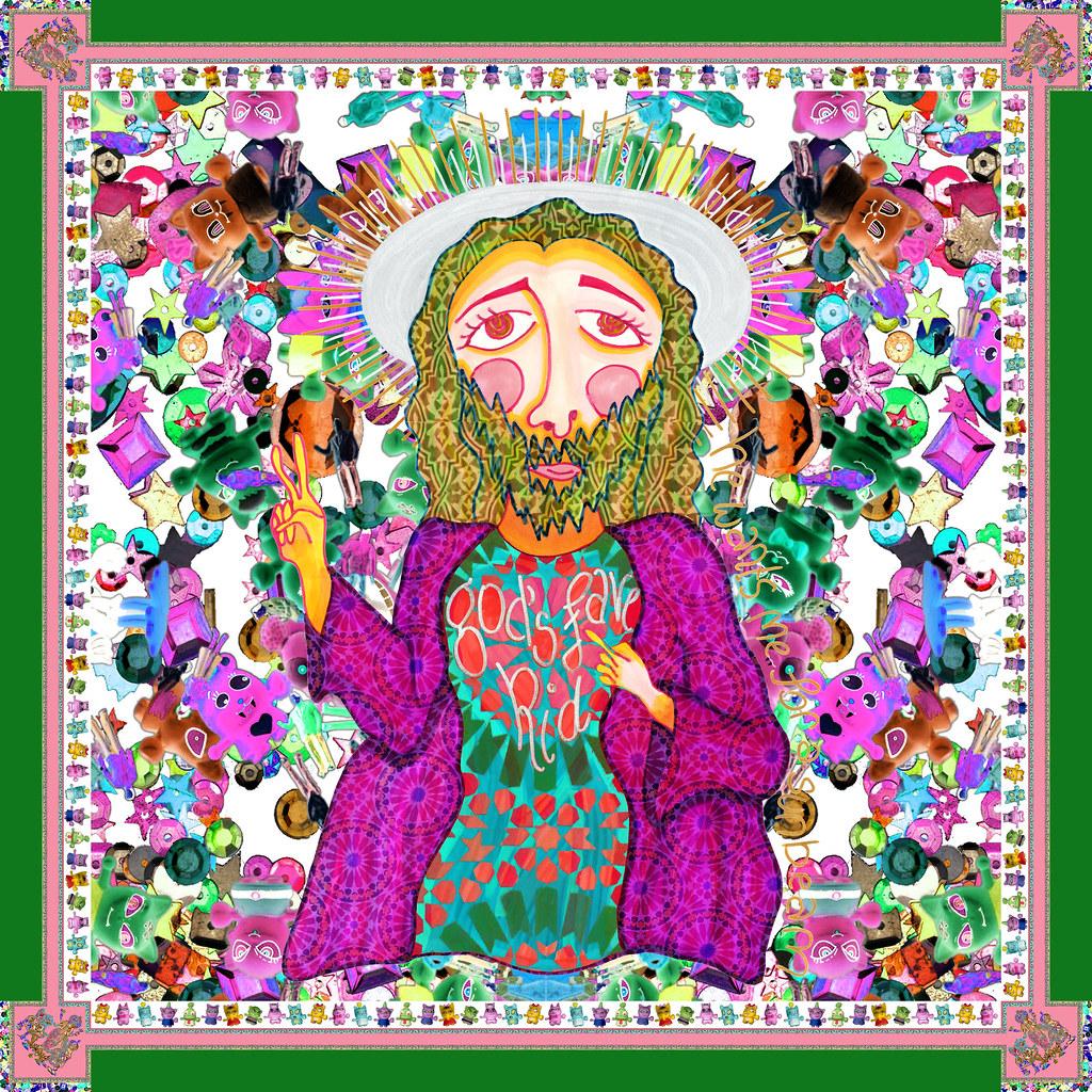 jesus-psychadelic-square