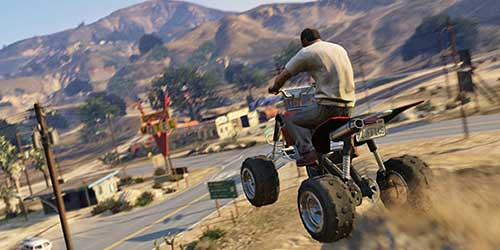 GTA 5 new-gen visuals is so good, its makes Metal Gear creator depressed