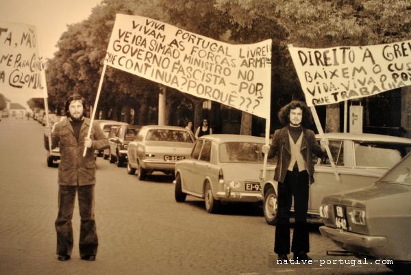 7 - 25 апреля 1974 года - революция гвоздик в Португалии - Каштелу Бранку