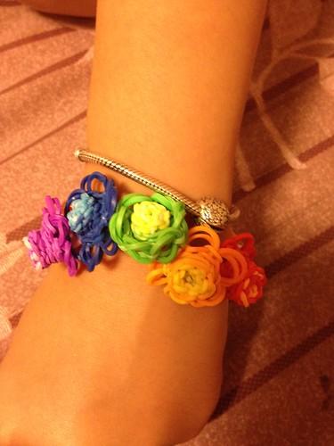 彩虹編織-立體花朵