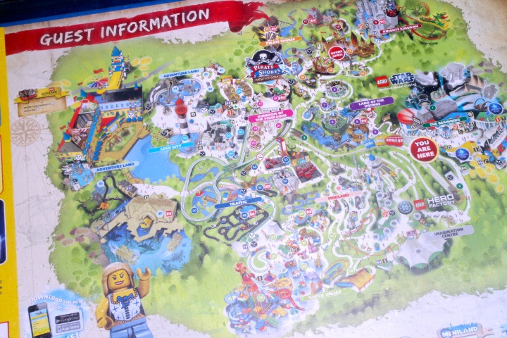 Legoland Windsor Map