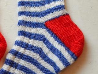 полосатые носки пятка (2)