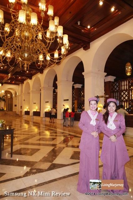 Manila Hotel & Samsung NX Mini