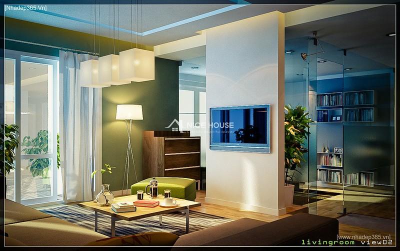 Thiết kế nội thất chung cư M5 - Anh Hoàn_4
