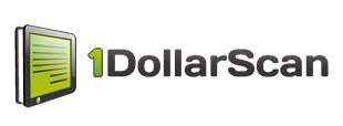 1 dollar scan logo