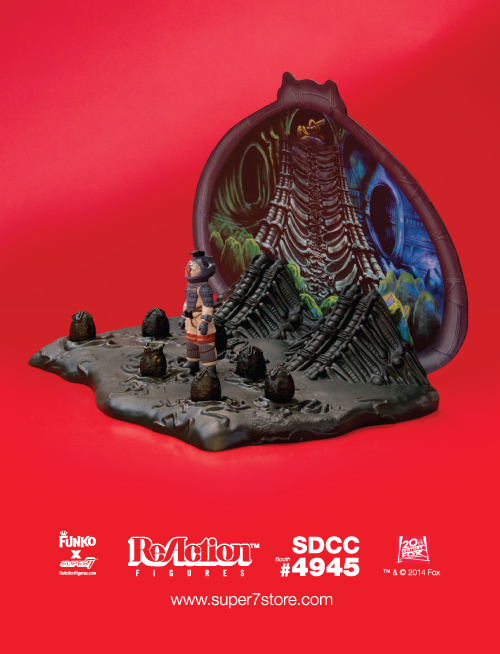 Alien ReAction Figures Egg Chamber Playset