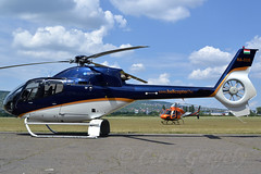 EC120 and AS355, HA-ECU, HA-TWO - LHBS, 2014.07.24.