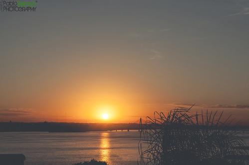 morning bridge windows sky sun sunshine clouds digital sunrise canon reflections eos early reflex view outdoor silhouettes 5d misiones posadas markii canoneos5dmarkii 5dmkii pabloreinschphotography