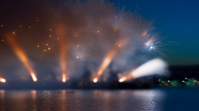 Fireworks focus wankery