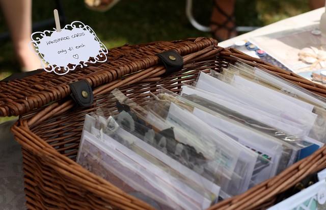 craft fair card basket £1 each