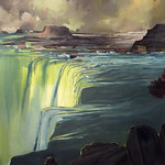 Beau Carey; Snake River; Oil on canvas; 2012; 36x60; Courtesy of Goodwin Fine Art -