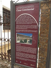 Photo of Ronda Ayuntamiento red plaque
