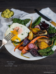 Rainbow Roasted Winter Vegetables