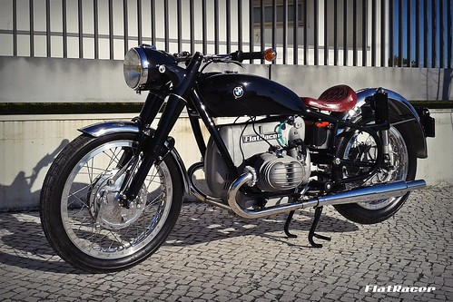 FlatRacer Mancha Negra BMW custom motorcycle