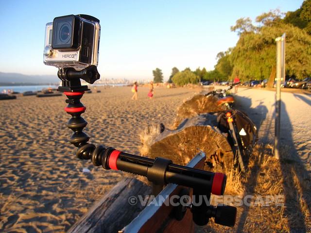 JOBY mounts at Jericho Beach-3