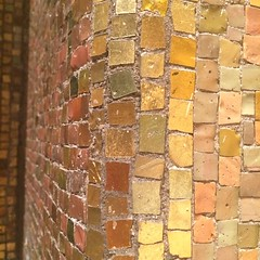 Stunning mosaic in the temple. #nofilter #mosaic