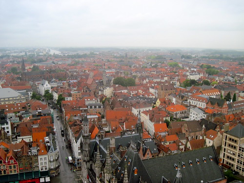 Climbing the Belfry in Bruges
