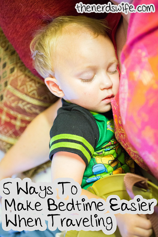 5 Ways to Make Bedtime Easier When Traveling #goodnightsnack #shop
