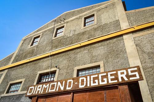 Diamong diggers
