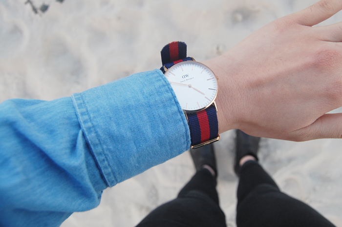 daniel wellington beach