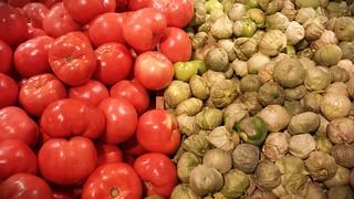 Tomatoes vs. Tomatillos