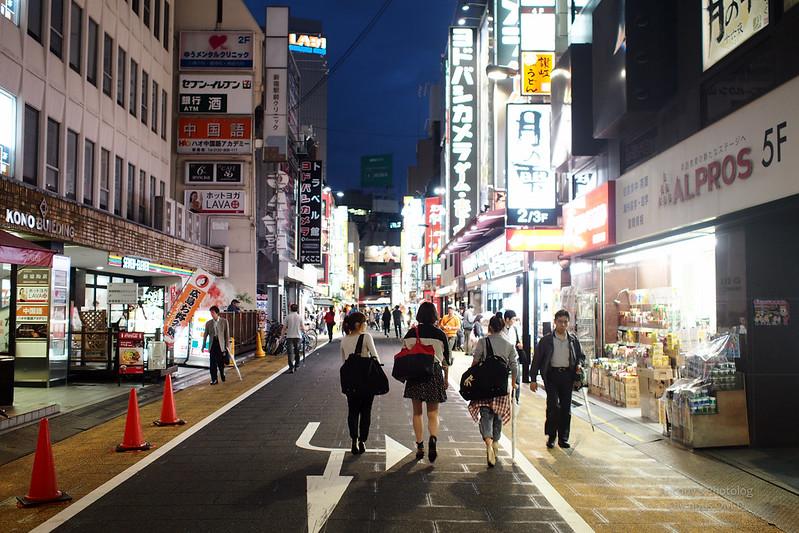 巷弄裡 | 東京新宿