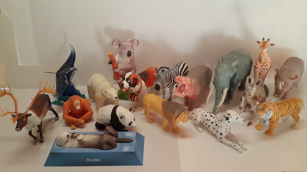 Canon Papercraft Animals Papermodelers
