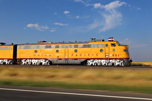 Train WiFi Cheyenne Frontier Days Train - Pierce, Colorado