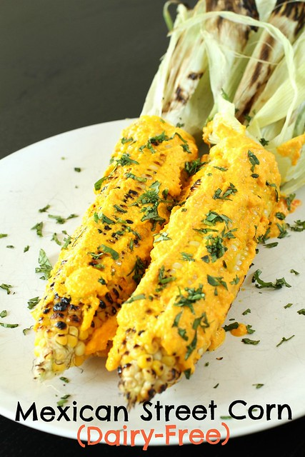 Dairy-Free Mexican Street Corn (Elotes) -Cover Pic