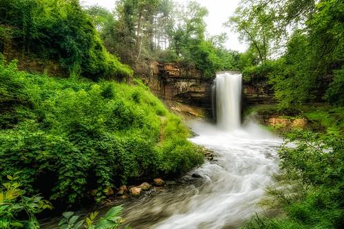 longexposure minnesota creek river waterfall minneapolis 365 minnehahafalls minnehahacreek laughingwater