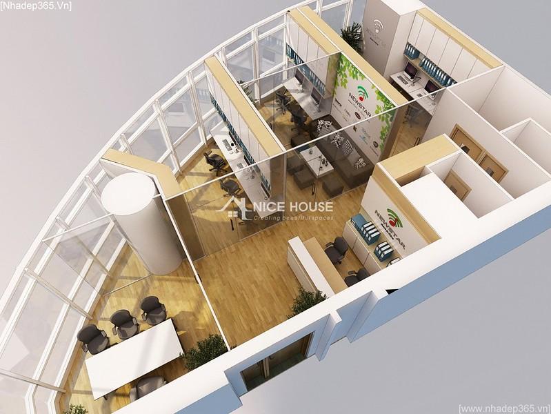 Thiết kế nội thất văn phòng EuroWindow- HN_04