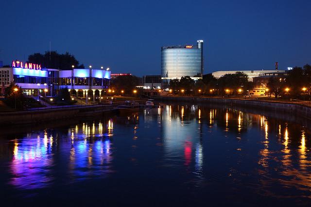 Illuminated River Emajõgi