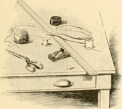 """Image from page 10 of """"The new dressmaker; with complete and fully illustrated instructions on every point connected with sewing, dressmaking and tailoring, from the actual stitches to the cutting, making, altering, mending, and cleaning of clothes for la"""