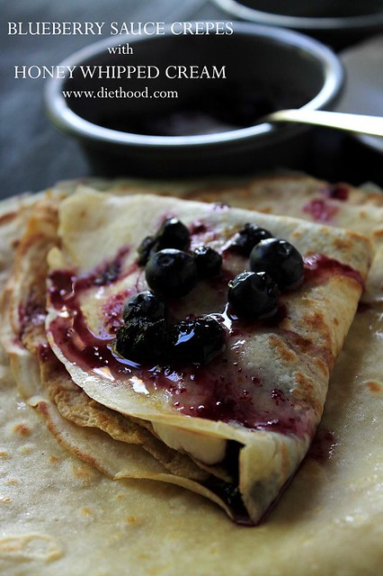 Blueberry-Sauce-Crepes-Honey-Whipped-Cream-Diethood