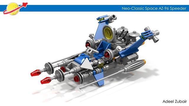 LEGO Neo-Classic Space - AZ-96 Speeder