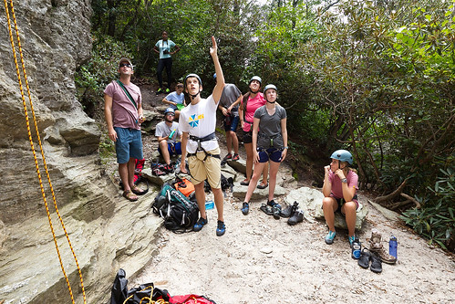 Students enjoy outdoor pursuits